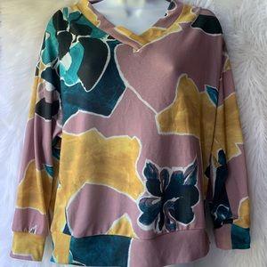 Zara• Floral Long Sleeve